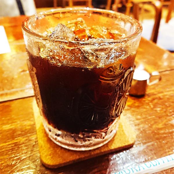 にしむら珈琲のアイスコーヒー