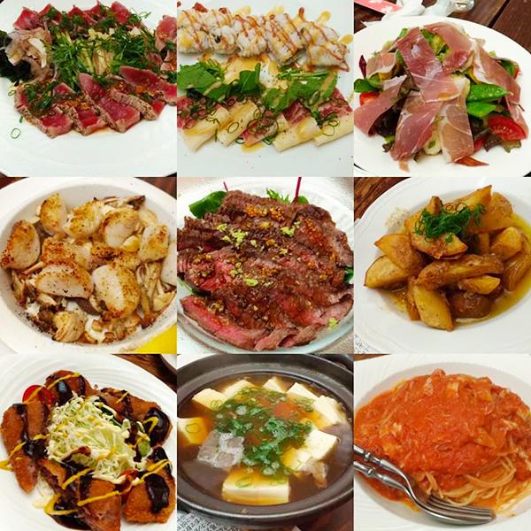 川島しょう店料理