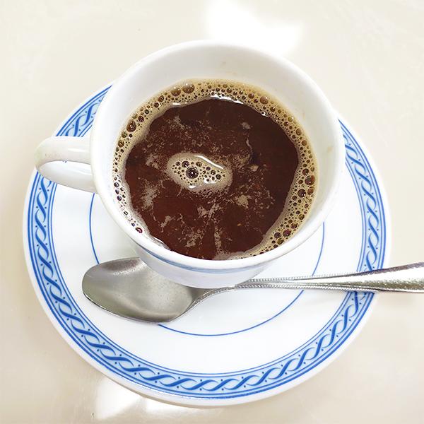 コーヒーぜんざい1